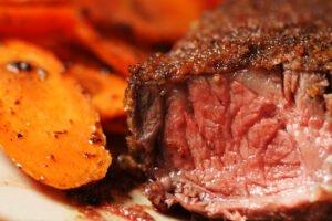 carne di manzo con carote